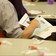 University of Connecticut Early College Experience (UConn ECE) Concurrent Enrollment – A new Instructor checking folder materials