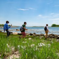 University of Connecticut Early College Experience (UConn ECE) Concurrent Enrollment - Participants walking by the shore