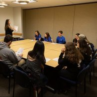 University of Connecticut Early College Experience (UConn ECE) Concurrent Enrollment – Students receiving instructions for the French Quiz Bowl competition