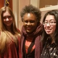 University of Connecticut Early College Experience (UConn ECE) Concurrent Enrollment - two student and Claudia Rankine