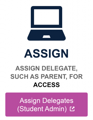 Assign delegate such as parent for access