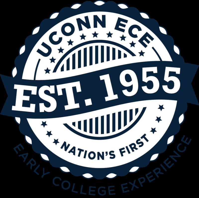 UConn ECE Est In Stamp one color